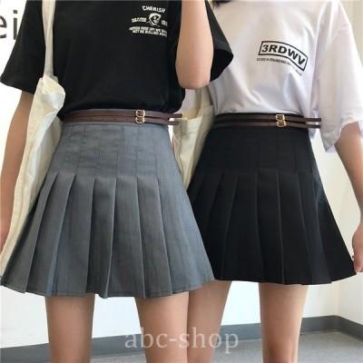 2色プリーツスカート制服風学生服ミニスカート台形スカートスカートミニミニ丈ショートwear.com