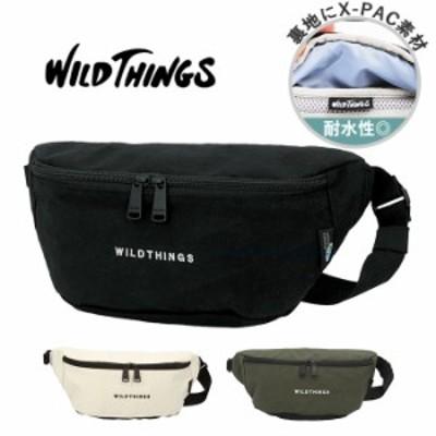 ウエストポーチ メンズ 通販 レディース ウエストバッグ ショルダーバッグ 小さめ 軽量 軽い スポーティー WILD THINGS ワイルドシングス