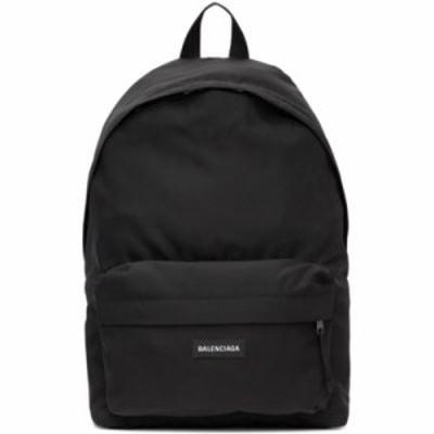 バレンシアガ バックパック・リュック Black Nylon Explorer Backpack