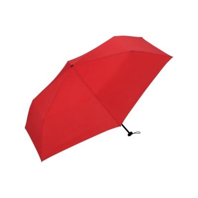 Wpc. (ダブリュピーシー) レディース 【折りたたみ傘】[UNISEXEASY]レッドmini レッド ONESIZE