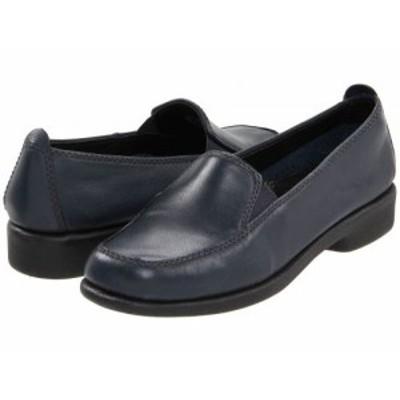 Hush Puppies ハッシュパピーズ レディース 女性用 シューズ 靴 ローファー ボートシューズ Heaven Navy Leather【送料無料】