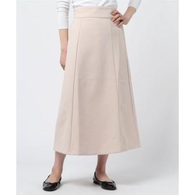 スカート ハイウエストロングスカート