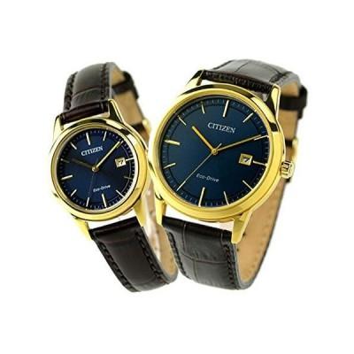 [シチズン]CITIZEN 腕時計 ペアウォッチ ペアボックス付き ラッピング付き 日本製 エコドライブ ブルー AW1232-21L FE