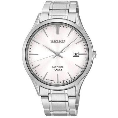 腕時計  Seiko Men's Analogue Quartz Watch with Stainless Steel Bracelet 窶・SGEG93P1 輸入品