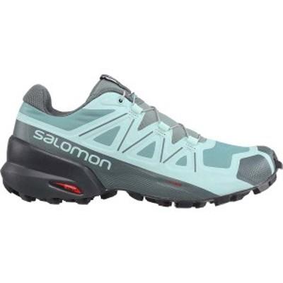 サロモン レディース スニーカー シューズ Speedcross 8 Trail Running Shoes Trellis/Stormy Weather/Phantom