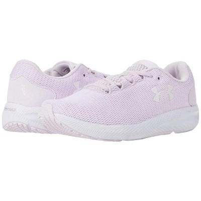 アンダー アーマー Charged Pursuit 2 Twist レディース スニーカー シューズ 靴 Crystal Lilac/White