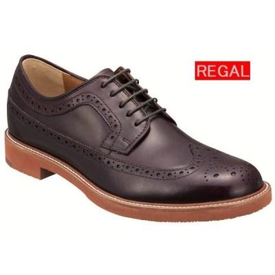 リーガル REGAL 靴 メンズ カジュアル オックスフォードシューズ 70TR ウィングチップ バーガンディ