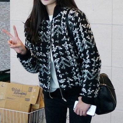 ニットジャケット コート レデイース ジャケット 秋冬 40代 オシャレ 長袖ジャケット カジュアルウエア  厚手 暖かい 韓国風 きれいめ