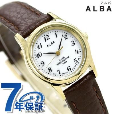セイコー アルバ ソーラー レディース 腕時計 AEGD544 SEIKO