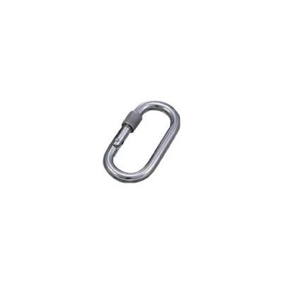 【代引不可】 水本 ステンレス カラビナジュニア (1個=1袋) 【B1016】