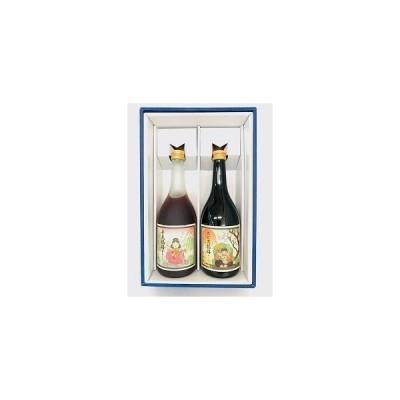 梅酒の贈り物 おすすめギフト エビス福梅&弁天福梅 幸せ度100%の梅酒ギフト720mlx2本セット(箱代・包装代込み)