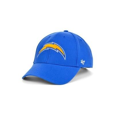 47ブランド レディース 帽子 アクセサリー Los Angeles Chargers MVP Cap