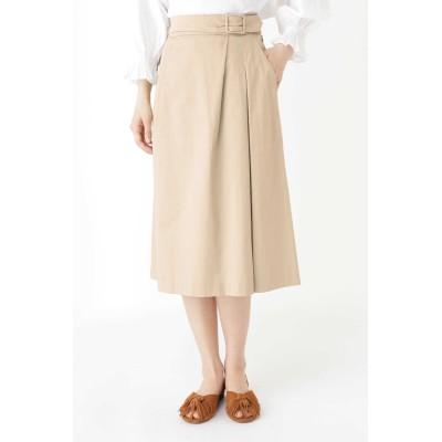 HUMAN WOMAN スラブサテンタンブラースカート