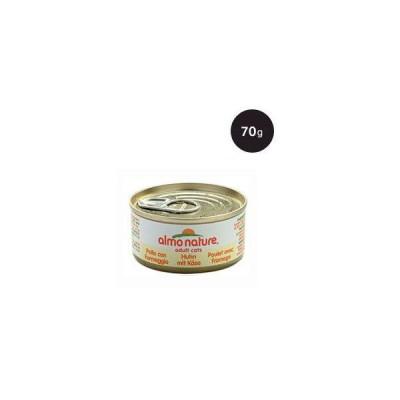 アルモネイチャー アダルトキャット チキンwith チーズ 70g
