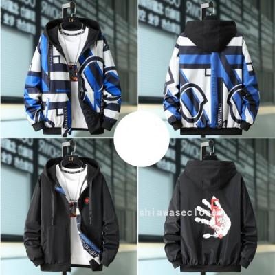 4色 メンズミリタリージャケット ジャケット アウター 両面着   ジップデザイン ブルゾン ジャンパー アウター  秋冬 立ち襟 個性 オシャレ