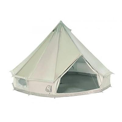 テント Nordisk Asgard 12.6 3-8 pers. Tent Technical Cotton beige