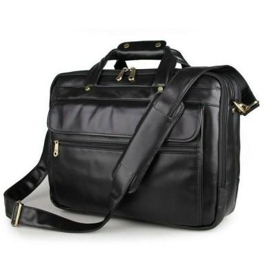 バッグ メンズ Men's Genuine Leather Bag Handbag Briefcase Laptop bag Shoulder messenger AJ46