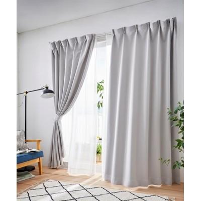 選べる10色!1級遮光カーテン&レース4枚セット カーテン&レースセット, Curtains, sheer curtains, net curtains(ニッセン、nissen)