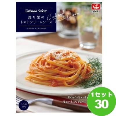 日本製麻 ボルカノ 渡り蟹のトマトクリームソース 120g×30箱