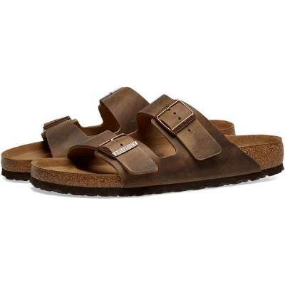 ビルケンシュトック Birkenstock メンズ サンダル シューズ・靴 arizona Tobacco Brown Oiled Leather