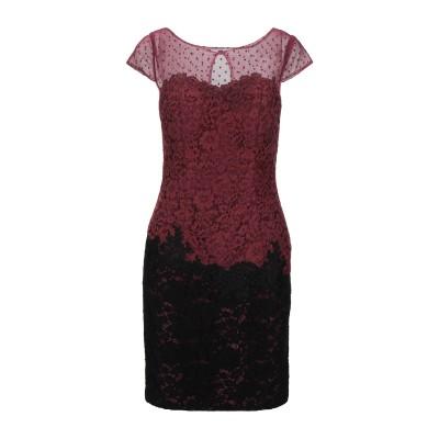 ALLURE ミニワンピース&ドレス ボルドー 8 ポリエステル 100% ミニワンピース&ドレス
