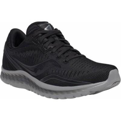 サッカニー レディース スニーカー シューズ Women's Saucony Kinvara 11 Running Sneaker Blackout