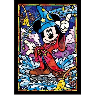 【新品】ジグソーパズル ディズニー ミッキーマウス ぎゅっとシリーズ【ステンドアート】(18.2x25.7cm)266ピース