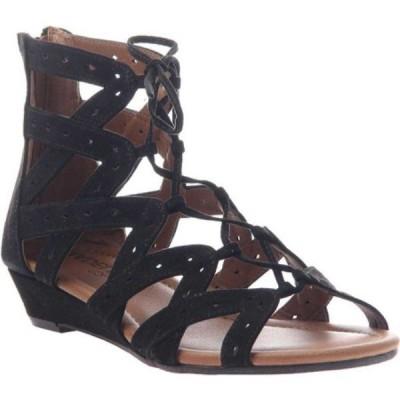 マデライン Madeline レディース サンダル・ミュール グラディエーターサンダル シューズ・靴 Finesse Gladiator Sandal Black Textile