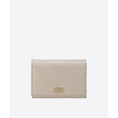 <NINA RICCI(Bag&SLG) /ニナ リッチ> NRルーン折財布 シャンパン【三越伊勢丹/公式】