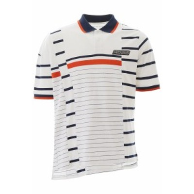 MARTINE ROSE/マーティン ローズ ポロシャツ WHITE ORANGE NAVY STRIPE Martine rose striped polo shirt メンズ 春夏2020 MRSS20 625 ik
