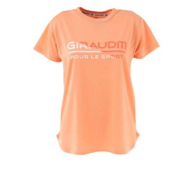 Tシャツ レディース 半袖 ドライ 吸汗速乾 UVカット メッシュシャツ 864GM1CD6678 ORG