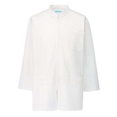 254 KAZEN メンズ医務衣 七分袖 ナースウェア・白衣・介護ウェア