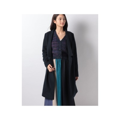 actuelselect 【THE FIFTH】SEMINAR COAT(ネイビー)【返品不可商品】