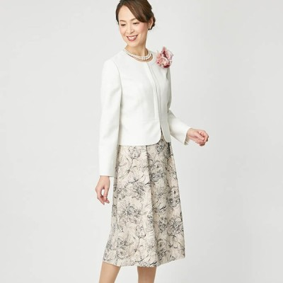 東京ソワール ミセスのセレモニースーツ リファンネ 七五三 卒業式 入学式 9-15号 7803850