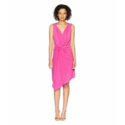 Ellen Tracy エレントレーシー ドレス 一般 Twisted Front Sleeveless Dress
