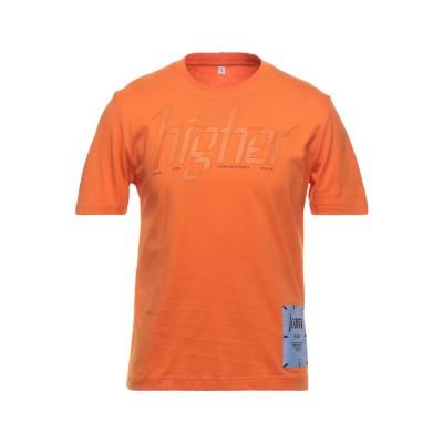 マックキュー アレキサンダー・マックイーン McQ Alexander McQueen T シャツ オレンジ S コットン 100% / ポリエステ