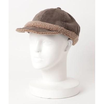 chumchum / BRIMP SUEDE×BOA BB CAP_lbi WOMEN 帽子 > キャップ