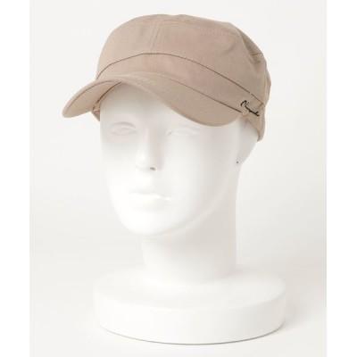VIBGYOR / 【Holiday A.M/ホリデーエーエム】ツイルサイド刺繍ワークキャップ WOMEN 帽子 > キャップ