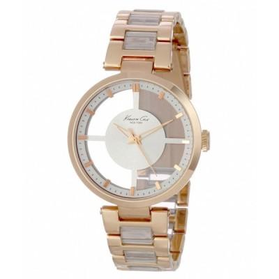 腕時計 ケネスコール Kenneth Cole KC4759 Clear Dial Rose Gold Tone Women's Watch