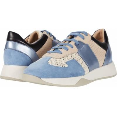 ジェオックス Geox レディース スニーカー シューズ・靴 Suzzie 9 Off-White/Light Blue