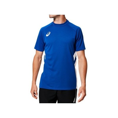[アシックス] サッカーウエア 半袖ゲームシャツ 2101A038 [メンズ] アシックスブルー 日本 2XL (日本サイズ3L相当)