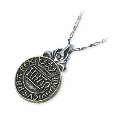 ネックレス レディース SAINTS シルバー 真鍮 コイン 誕生日プレゼント ギフト