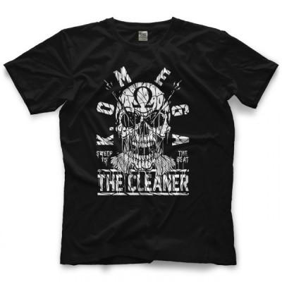 ケニー・オメガ Tシャツ「Kenny Omega Sweep To The Beat Tシャツ」【アメリカ直輸入プロレスTシャツ 大きいサイズ(XXL 3XL 4XL)もあり】