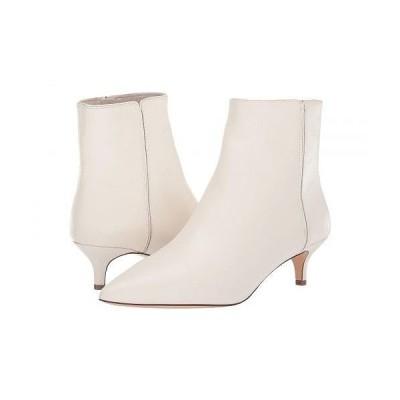 J.Crew レディース 女性用 シューズ 靴 ブーツ アンクルブーツ ショート Leather Emma Boot - Ivory