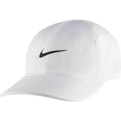 ナイキ 帽子 アクセサリー メンズ Nike Men's Feather Light Adjustable Hat White