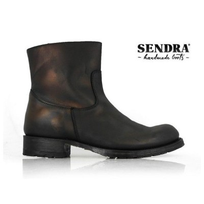 [限定SALE][500円クーポン]センドラ ペコスブーツ スプリンター 9491 ネグロ ブラック 黒 メンズ
