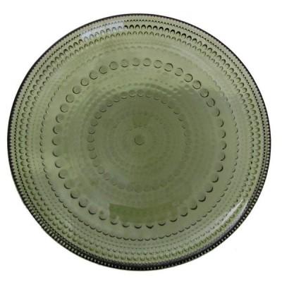 【iittala】 カステヘルミ プレート 17cm モスグリーン /皿 デザート 菓子皿 パスタ イッタラ