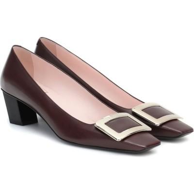 ロジェ ヴィヴィエ Roger Vivier レディース パンプス シューズ・靴 Belle Vivier 45 leather pumps Castagna Medio