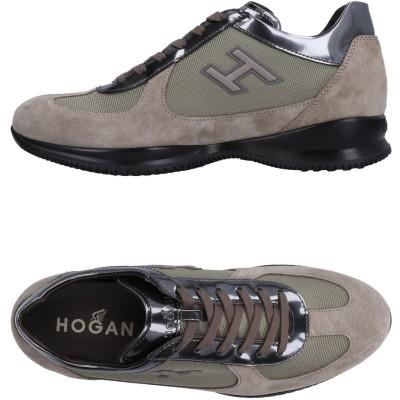 ホーガン HOGAN スニーカー&テニスシューズ(ローカット) ベージュ 10 紡績繊維 革 スニーカー&テニスシューズ(ローカット)