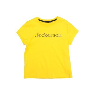 ジェッカーソン JECKERSON T シャツ イエロー 7 コットン 100% T シャツ